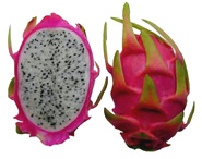 dragon fruit, dragon fruit juice, banana dragon fruit juice